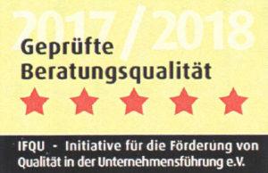 Geprüfte Beratungsqualität 2017 / 2018