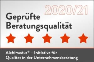Geprüfte Beratungsqualität 2020 /2021